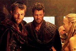 lol, Agron! - #Spartacus gif via GIPHY