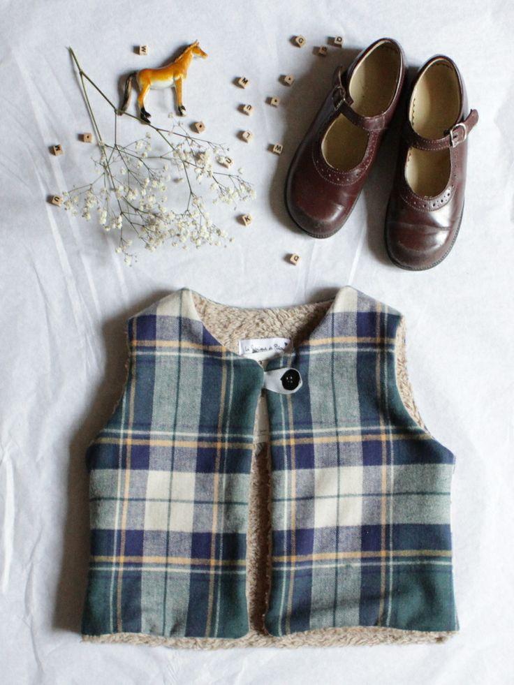 Gilet CHARLIE [tartan écossais] | La fabrique de Rilou