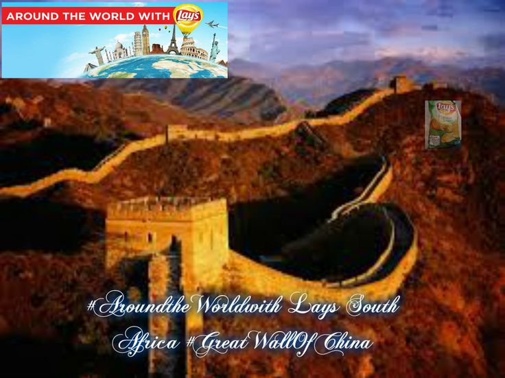 #AroundtheWorldwith Lays South Africa #GreatWallOfChina