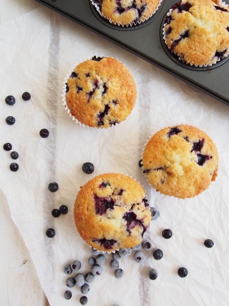 Blueberry muffins drsugars.blogspot.fi