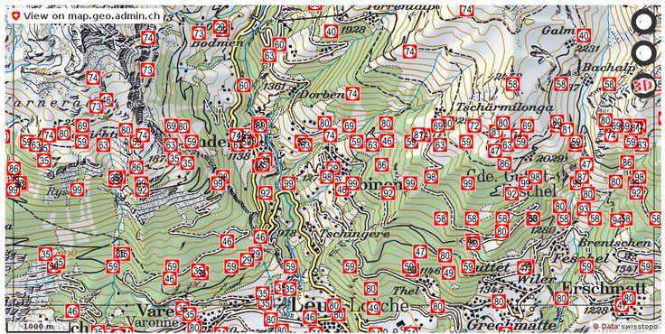 Albinen VS Luftbilder drohne http://ift.tt/2li5mat #infographic #schweiz