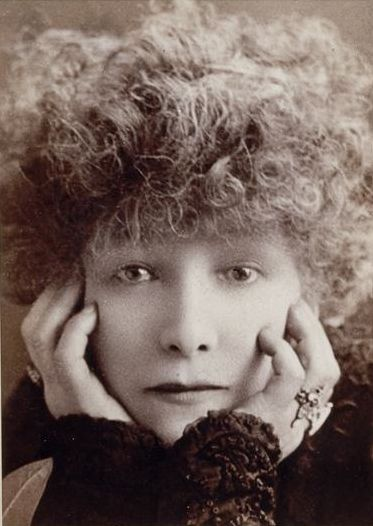 Sarah Bernhardt (1844-1923), 1902 //  by W.& D. Downey