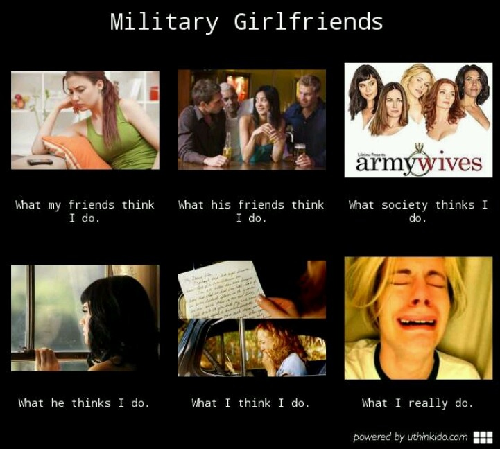 Having a girlfriend while in the military