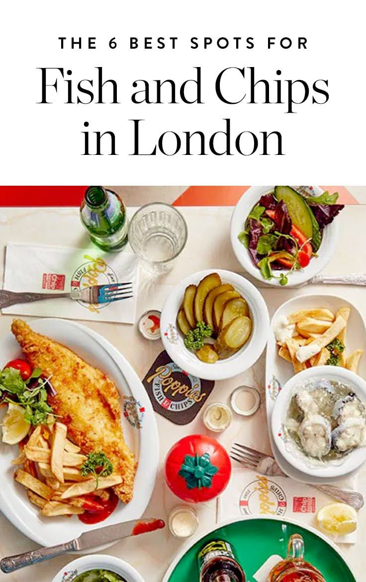 The 6 Best Spots for Fish and Chips in London via @PureWow