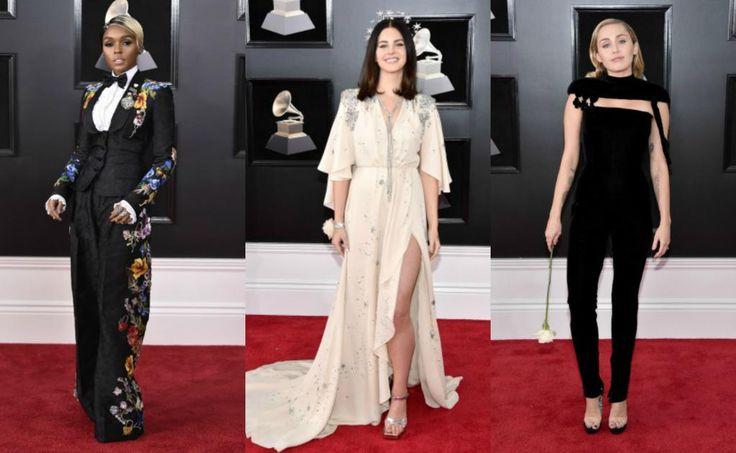 Las mejor vestidas de los premios Grammy 2018
