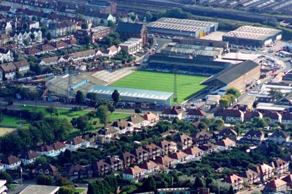 The Goldstone Ground - the former home of Brighton and Hove Albion - pictured in 1994. Picture: Simon Dack