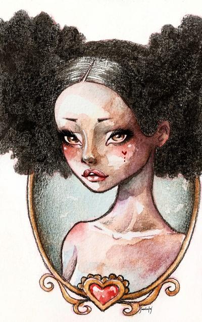 Sweet Ebony  by Sabrina Eras
