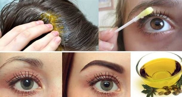 With This Oil Your Hair, Eyelashes And Eyebrows Grows Rapidly! health remedies remedy oil hair remedies viral viral right now trending viral posts hair remedy