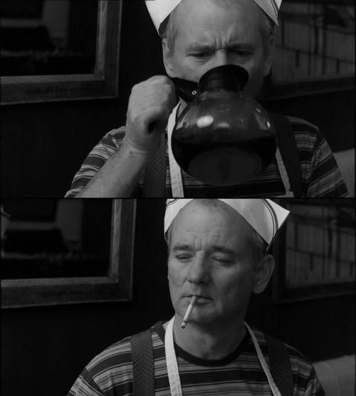 Bill Murray sins....