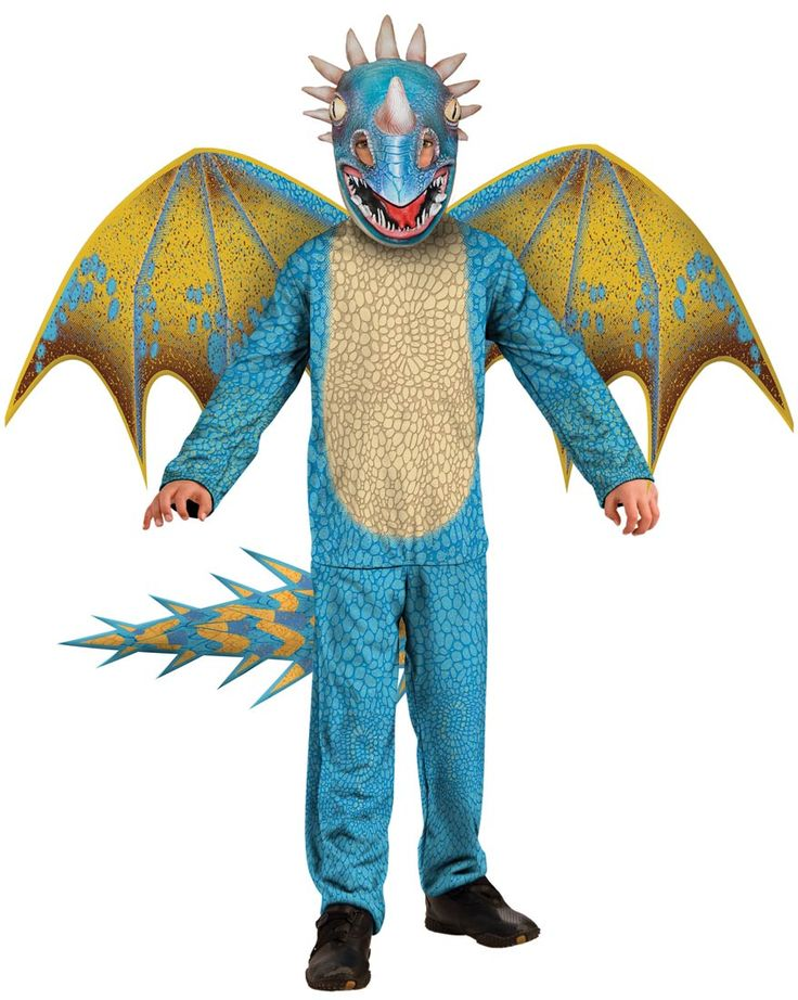 Stormily Deadly Nadder Kids Costume - How to Train Your Dragon