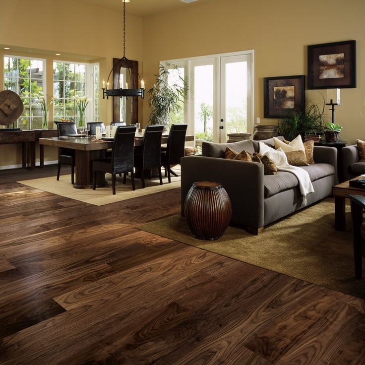 American Walnut is well known in the wood industry due to its exceptional variety of color, and unique grain pattern. It has rich dark chocolate brown colors, with purple black straight to wavy grain pattern that often looks like marble.