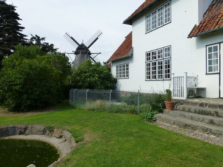 Kerteminde, the danish painter Johannes Larsen's house