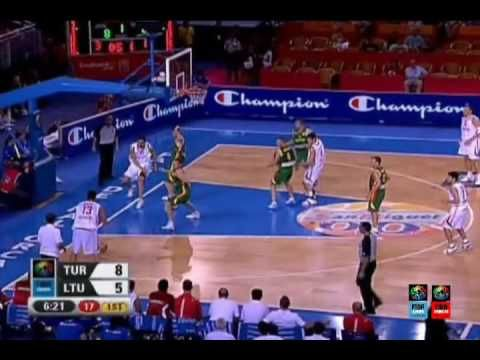 Offensive illegal use of legs - on the ball - FIBA referee education