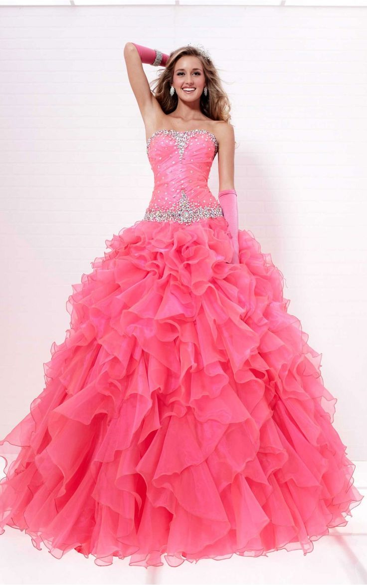 1000  images about Senior prom on Pinterest  Strapless prom ...