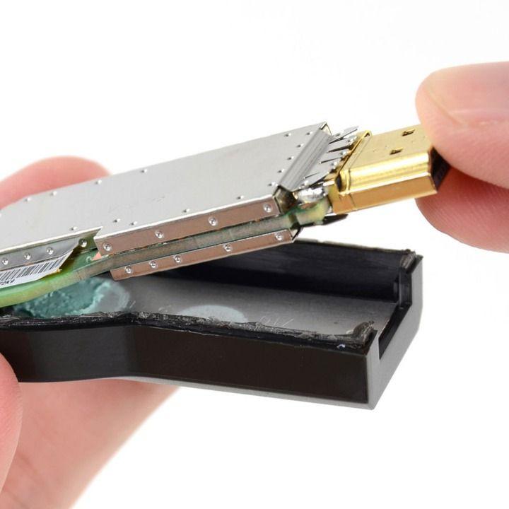 Unassembled Chromecast