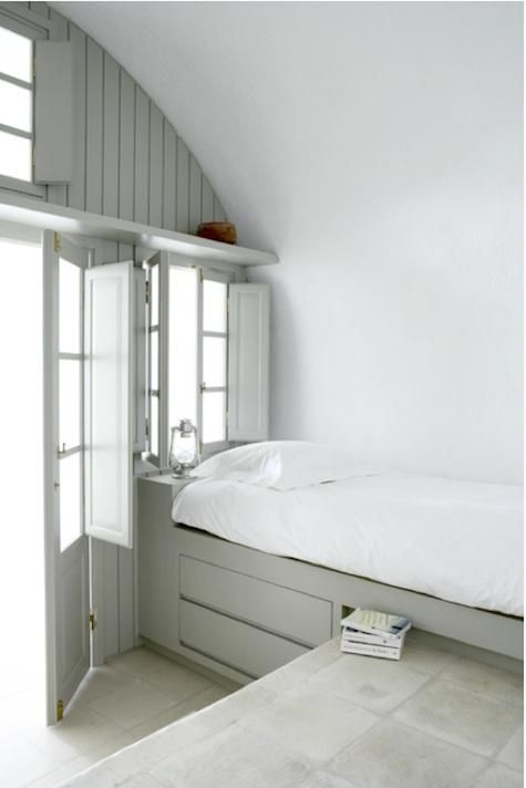 Bedroom: Paneled Alcove Bed Roundup : RemodelistaSmall Room, Beds, Bedrooms Crafts, Summer House, Built In, Crafts Room, Small Spaces Living, Cabin Bedrooms, Villas Fabrica