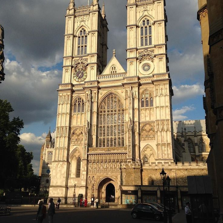 The Westminster Abbey. #london #westminster #abbey #cathedral #gothic #art #monument #uk #summer