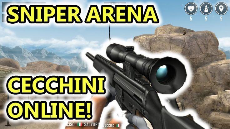 Sniper Arena - CECCHINI online! - Sparatutto Android - (Salvo Pimpo's)