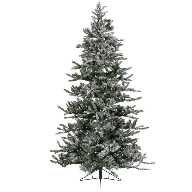 12 Foot Iced Slim Pre-Lit Warm White LED Artificial Tree Reg. $229.00                     Sale  $148.00