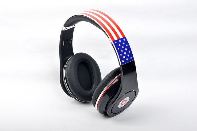 Discount limited Monster Beats Studio High Definition American flag image