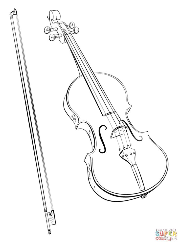 40 best string instrument coloring pages images on