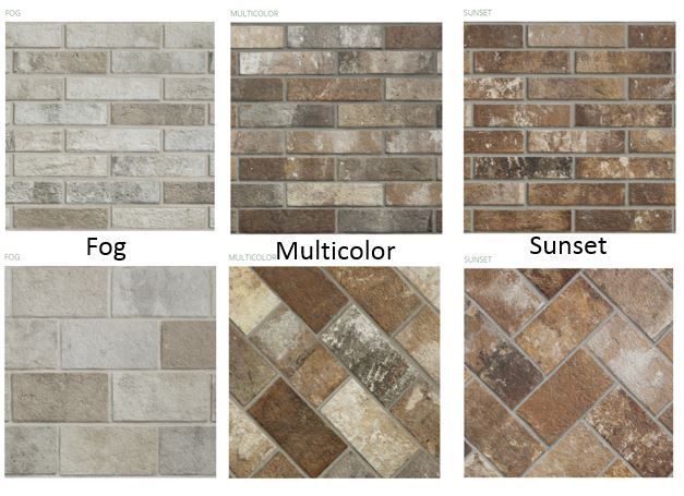 If you are looking for a brick floor tile for your home, you will love the porcelain tile London Brick Collection.It\'s ideal for a timeless craftsman look.