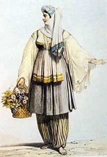 santorini traditional costumes