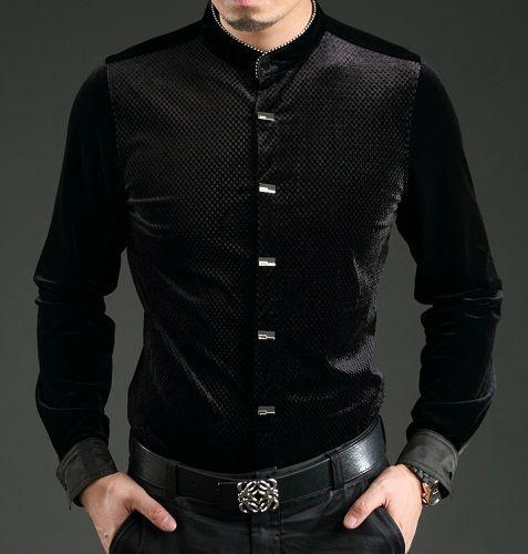 8d5823438 22 Stylish Models of Black Shirts For Men In New Fashion   Shirt men ...