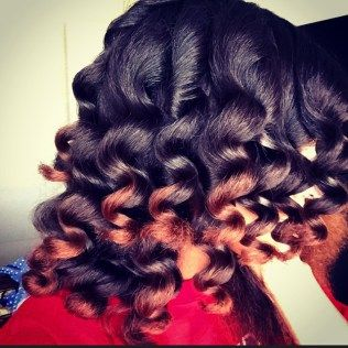 How to  Soft Beautiful Curls with a Curl Wand on Natural Hair