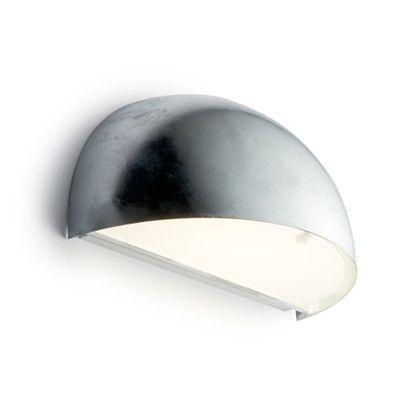 Rørhat Utendørs Vegglampe Galvanisert - Light-Point
