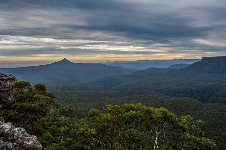 Rusden Head lookout, Milton region, NSW