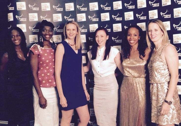 So happy to be inducted into the @England_Netball Hall of Fame & share the night with these ladies #forgotmytissues pic.twitter.com/klpl5DQEre
