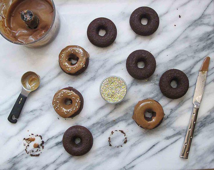Vegan Protein-Packed Donuts via @BubbleGirlBakes  #riceprotein