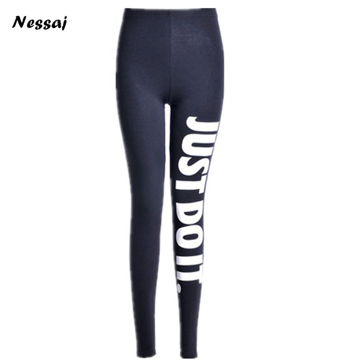 Nessaj New Women Leggings Printed Black Stretchy Leggings Casual Sexy Elastic Leggings High Waist Leggings Stretched <font><b>Pants</b></font> 2017