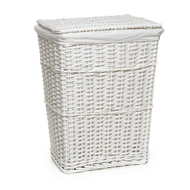 White Bathroom Laundry Storage best 25+ white wicker laundry basket ideas on pinterest | white