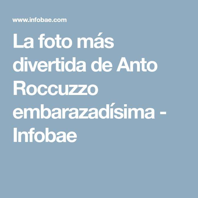 La foto más divertida de Anto Roccuzzo embarazadísima - Infobae