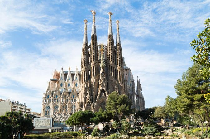 Early Access to Sagrada Familia with Optional Tower Access #affBe among the first inside La Sagrada Familia in Barcelona on this 2 hour tour. Head inside the famously unfinished church by late, great Catalan architect Antoni Gaudí, and marvel at its design right as the structure first opens. Check out the tree-like columns, rich decoration and stained glass windows; admire the religious symbolism of the facades; and learn about the history of this UNESCO World Heritage Site from your guide…
