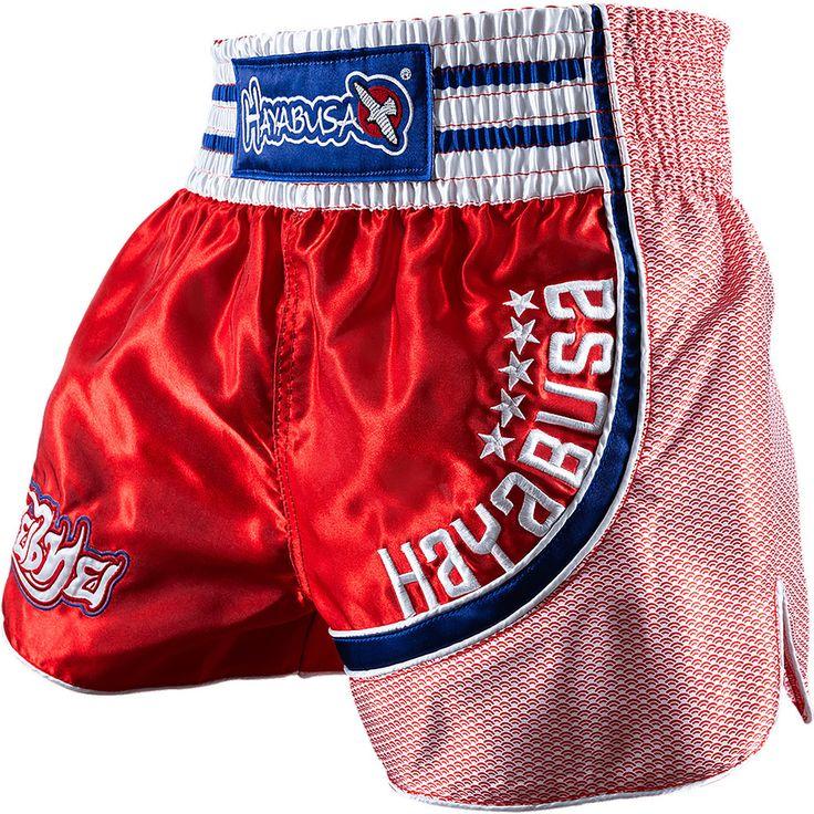 Hayabusa Lion Warrior Muay Thai Shorts