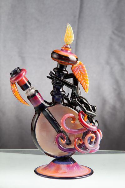 Lace Face Awesome glass work. www.SativaMagazine.com #SativaMagazine