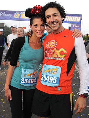 """I'm not going to stop!"" says former Survivor winner Ethan Zohn, who ran the Disney half-marathon while battling a relapse of Hodgkin's lymphoma."