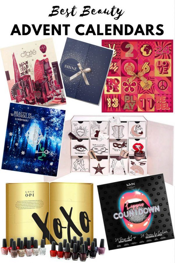 The Best Beauty Advent Calendars for 2017 - Complete round-up, pricing and shipping information