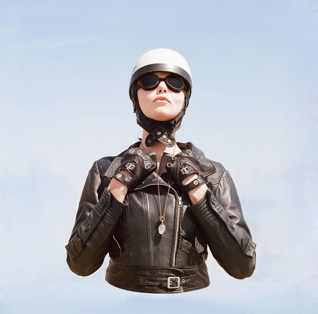The Women's Motorcycle Exhibition by Lanakila MacNaughtonThe Women, Lanakila Macnaughton, Motorcycles Girls, Real Women, Triumph Motorcycles, Women Motorcycles, Tomboys Style, Leather Jackets, Motorcycles Exhibitions