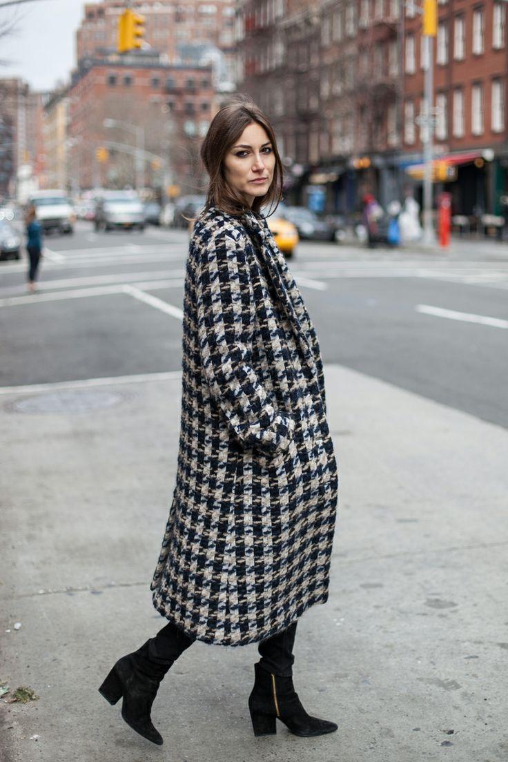 Giorgia Tordini on Curb Appeal. New York February 2014.
