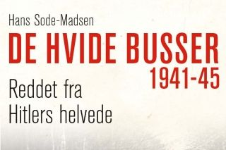 KRIG: Forfatteren Hans Sode-Madsens egen far var fange i KZ-lejren Neuengamme fra september 1944 og en af danske internerede som blev reddet hjem af De Hvide Busser i maj 1945.