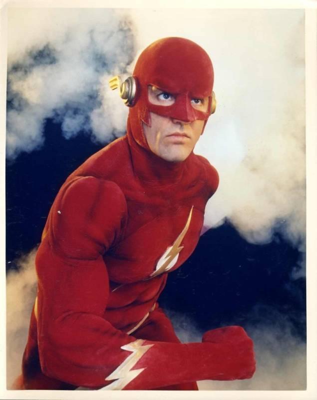 John Wesley Shipp as The Flash