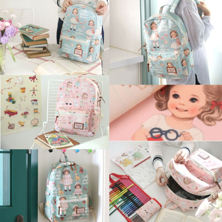 AFROCAT Paper Doll Mate Youth Backpack School Travel Bag Polyester Waterproof  #Afrocat #Backpack