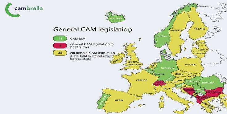 Trudde du at lovar og reglar kring  alternativ behandling var like kring om i Europa? Absolutt ikkje, er NAFKAM sin konklusjon etter  CAMbrella-prosjektet.