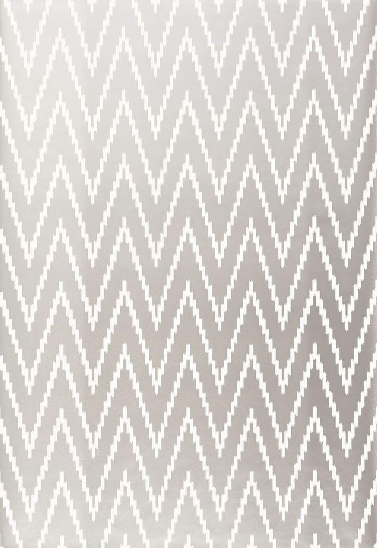 FSchumacher Wallpaper 5005993 Kasari Ikat Silver. 17 Best ideas about Silver Wallpaper on Pinterest   White