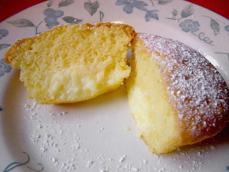 Vanillepudding - Muffins 1