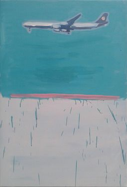 "Saatchi Online Artist Janusz Gałuszka; Painting, ""German aircraft bombed prices."" #art"